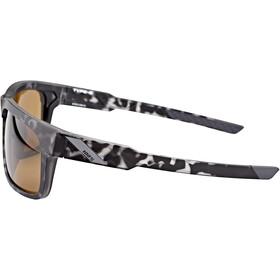 100% Type S Gafas, negro/marrón